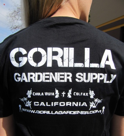 Gorilla Gardener in South Bay San Diego & Colfax, CA